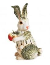 """Статуэтка  """"Кролик из капусты"""""""